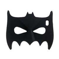 LliVEER 3D Comics Gift Silicone Rubber Face Mask Phone Case For Iphone 5G 5GS 5S Black