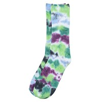 Tie Dye Socks in Blue