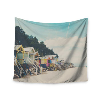 """Laura Evans """"Small Spaces"""" Beach Coastal Wall Tapestry"""