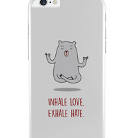 Inhale Love Exhale Hate | Quirky iPhone 6 Plus / 6S Plus Cover
