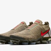 Nike Air Vapormax FK Moc 2 Size 9 UK Olive Genuine Authentic Mens Trainers