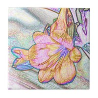 Beautiful Orchid Tile