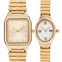 ASOS | ASOS Eclectic Pack of Two Vintage Style Watches at ASOS