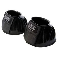 Roma PVC Ribbed Bell Boots - Adams Horse and Pet Supply
