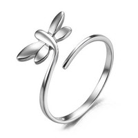 Dragonfly ring, 925 silver ring, lovely, the most special gift for you and your friends,