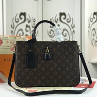 Kuyou Lv Louis Vuitton Fashion Women Men Gb29611 M44255 Millefeuille Tote Handbag 33.0*23.0*11.0 Cm