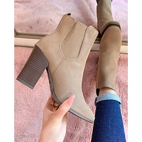 BROOKLYN BOOTIE (TAUPE)