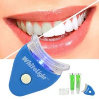 Hot Sale White Teeth Whitening Tooth Gel Whitener Health Oral Care Kit For Personal Dental Treatment brightening Light