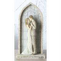 """2 Cake Toppers -  """" I Am My Beloved's And My Beloved Is Mine """""""