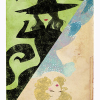 Wicked Art Print by Serena Rocca