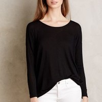 Twist-Back Tee by Anthropologie