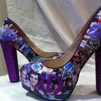 One Direction Band Shoes - Custom Made