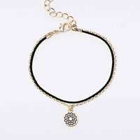Heart Chakra Charm Bracelet in Gold - Urban Outfitters