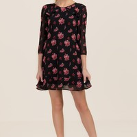 Laurie Floral Ruffle Dress
