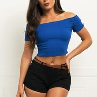Meredith Top - Blue