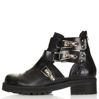 AJ Cut Out Heavy Boots - New In This Week  - New In