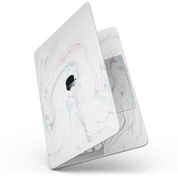 """Mixtured Textured Marble v10 - 13"""" MacBook Pro without Touch Bar Skin Kit"""