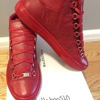 ICIKIN2 Balenciaga Arena Sneaker in Rouge Grenade RED Multiple Sizes