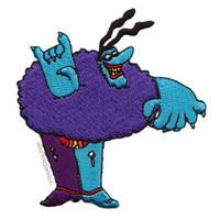 Beatles - Blue Meanie Patch on Sale for $4.99 at HippieShop.com