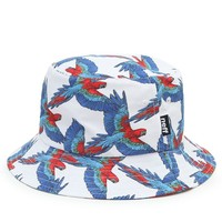 Neff Macaws Bucket Hat - Mens Backpack - White - One
