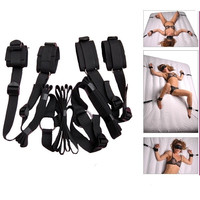Bed Restraints Sex Bondage Restraints Toy Fetish Kit Love Sex Hand Ankle Adult Games Erotic Sex Toy Sex Products For Couples = 1930138308