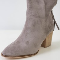 Sidney Booties - Stone