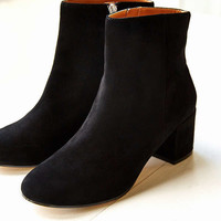 Thelma Suede Ankle Boot | Urban Outfitters