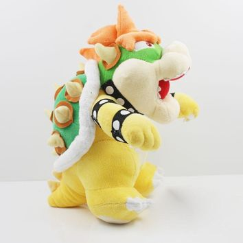 Super Mario party nes switch 9inch  Bowser Nicole Malliotakis Plush Doll Kubah Dragon stand Plush Toys   1Pcs AT_80_8