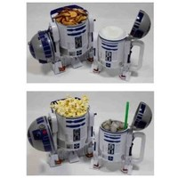 Disney Star Wars R2-D2 Plastic Popcorn Bucket & Drink Stein Set - Disney Parks Exclusive & Limited Availability - R2D2