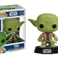 Funko Pop Star Wars: Yoda Vinyl Figure