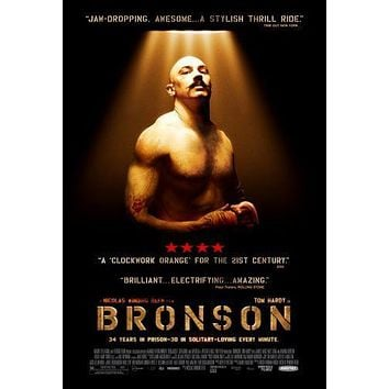 Bronson Movie poster 24inx36in Poster 24x36