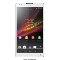 Sony - Xperia ZL 4G LTE Cell Phone (Unlocked) - White