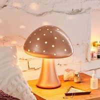 Mushroom Resin Table Lamp | Urban Outfitters