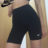 Nike Women's Basic Yoga Cycling Shorts