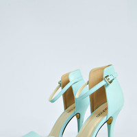 Scarlett Barely There Pastel Heels