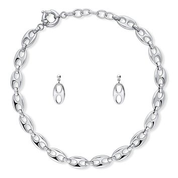 Silver-Tone Statement Necklace and Earrings SetBe the first to write a reviewSKU# vs518-01