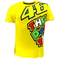 valentino rossi the doctor yellow t shirt-1