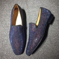 DCCK2 Cl Christian Louboutin Loafer Style #2313 Sneakers Fashion Shoes
