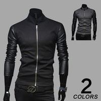 Men's Fashion Korean Stylish Strong Character Mosaic Hoodies Men Jacket [6528653827]