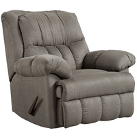 Exceptional Designs Sensations Grey Microfiber Rocker Recliner