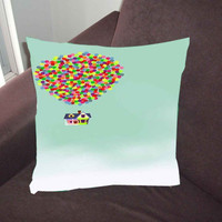Adventure up disney art - Pillow Case, Pillow Cover, Custom Pillow Case *02*