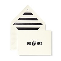 kate spade new york Wedding Thank You Cards