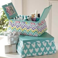 Quilted Sleepover Manicure/Pedicure Lapdesk