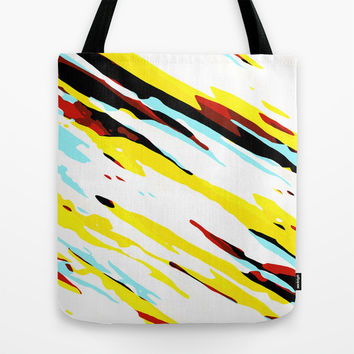 Trippy Panda 8 Tote Bag by HappyMelvin Graphicus