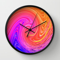 MARTIAN WAVE Wall Clock by catspaws
