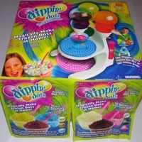 Dippin' Dots Frozen Dot Ice Cream Maker Machine & 2 BONUS Packs of Frozen Dot Mix Refills