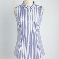 Write Away, Miss Top | Mod Retro Vintage Short Sleeve Shirts | ModCloth.com