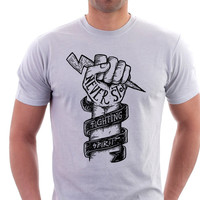 Never Stop Fighting T-shirt - Envy My Tee