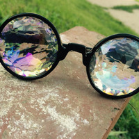 Prism Kaleidoscope Glasses- Rainbow