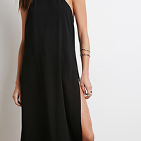 T-Back High-Slit Dress